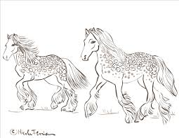 Small Picture Printable Coloring Pages Horses Coloring Coloring Pages