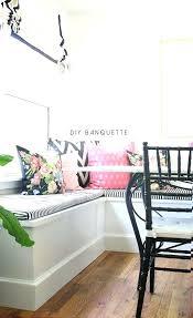 diy banquette banquette diy banquette seat cushion