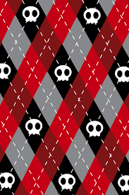 cute skull wallpaper 640x960