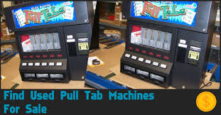 Used Pull Tab Vending Machines Delectable Used Pull Tab Machines For Sale Where To Buy Ticket Machines