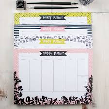 seriously succulent weekly planner desk pad by betty etiquette
