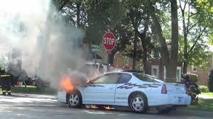 Fuel-Fed Car Fire: Chevrolet Monte Carlo Driver Smells Gas, Hears ...