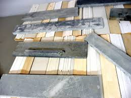 Pallet Wood Backsplash How To Make A Backsplash From Reclaimed Wood How Tos Diy