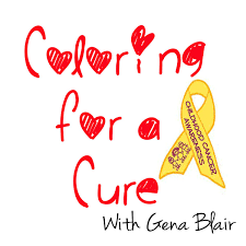 coloring for a cure