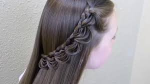 Hair Style Simple simple & beautiful hair style for girls youtube 1617 by wearticles.com