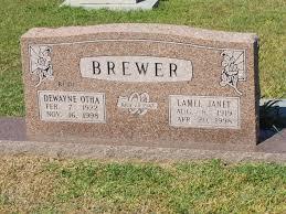 Lamel Janet Brewer (1919-1998) - Find A Grave Memorial