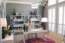 modern decoration home office features. Gentle Modern Home Office. Interior : 8 Feminime Office Designs For The One Decoration Features E