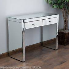modern mirrored furniture. indoor furniture jacinda modern design mirrored 2drawer accent console table