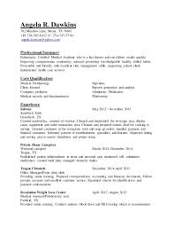 Medical Assistant Duties Resume Extraordinary Angela R Dawkins Resume