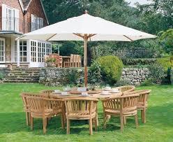 titan garden 8 seater teak wooden patio
