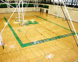ridgewood high school hardwood gym flooring