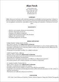 resume templates ultrasound technician resume laboratory technician resume sample