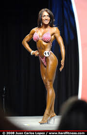 Bernadette Galvan - twopiece - 2008 IFBB Figure, Fitness and Ms ...