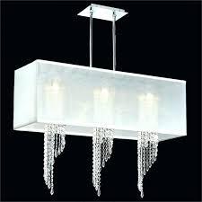 elegant double drum shade chandelier and linen drum shade chandelier new metal drum pendant light medium