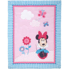 Disney Minnie Mouse Happy Day 4 Piece Crib Bedding Set - Walmart.com &  Adamdwight.com