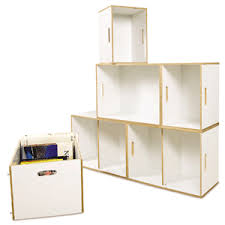 stackable storage shelves. Collapsible Stackable Storage Cubes Modular Shelving Units Photo From Wwwbrickboxes Throughout Shelves