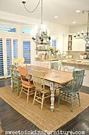 shabby chic dining room furniture. Shabby Chic Dining Room Tables Table And Mismatched Chairs Makeover Set . Furniture E