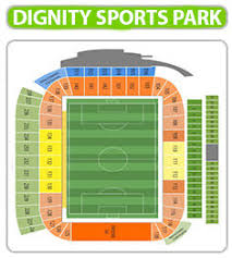 Dignity Sports Park Seating Chart Dignity Health Sports Park Section 115 Map Of Dignity Health