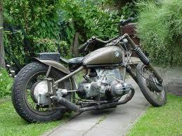 two up bobber via honda shadow forums but looks to be a bmw
