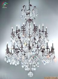 iron and crystal chandeliers iron crystal chandelier large wrought iron crystal chandelier antique bronze color iron and crystal chandeliers