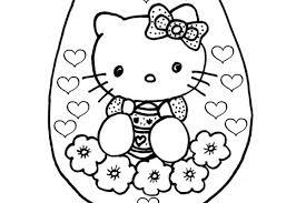 Kleurplaat Hello Kitty Uitprinten
