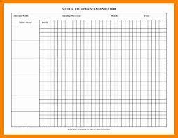 Medication Administration Record Template Medication Administration Record Template Inspirational Medication