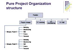 Project Organization Chart Classy Management Organization Organization Structure Three Basic