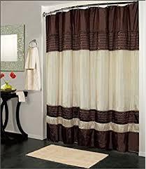 brown shower curtains. Kashi Home Ibiza Shower Curtain 70x72, Brown Ivory Curtains D