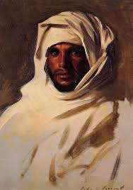 a bedouin arab portrait john singer sargent whole oil painting replica free cost accept custom made service in painting calligraphy from