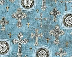Cross fabric | Etsy & Quilting Treasures / Dan Morris