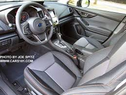 2018 subaru crosstrek premium. fine 2018 2018 subaru crosstrek premium silver shift plate leather wrapped steering  wheel and black cloth on subaru crosstrek premium