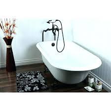 floor mount bathtub faucet tub w floor mount oil rubbed bronze filler faucet package freestanding tubs