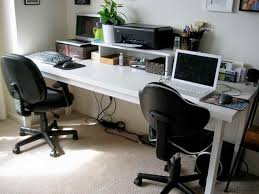 home office computer workstation. Plain Home Amazing Home Computer Workstation Two Person For Office Intended Desk Decor  14  On U
