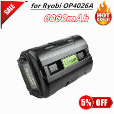 bonacell 40v 6000mah rechargeable replacement battery for creabest 200w greenworks 29462 29472 22272 g max gmax l30