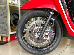 Karena bisa dipasangi ban tubeles. Modifikasi Honda Scoopy Pakai Pelek Jari Jari Ring 14 Makin Sporty Berkaki Jenjang Gridoto Com