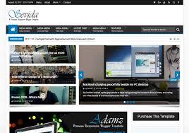 Blogger Templates 2020 Sevida Blogger Template 2015 Premium Templates
