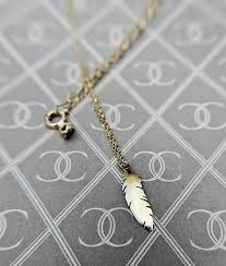 delicate 9ct yellow gold miniature feature necklace
