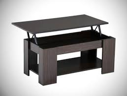 lift top coffee table storage shelf w compartment