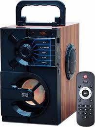 <b>Портативная</b> акустическая система <b>MAX MR 440</b>, коричневый ...