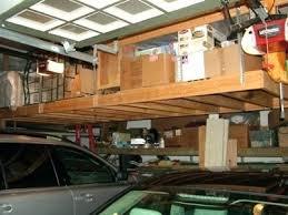 built in garage storage hanging garage shelves build garage storage shelves plans