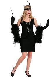black fringe 1920 s flapper costume update1