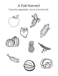 Small Picture All Worksheets Drawing Fruits And Vegetables Worksheets
