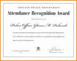 30 Free Perfect Attendance Certificate Pryncepality