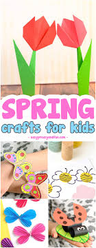 super fun spring crafts for kids fun craft ideas and crafts with printable templates