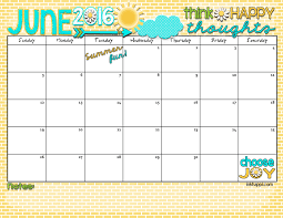 Calendars For June And July 2015 June 2016 Calendar Lets Have Some Summer Fun Inkhappi