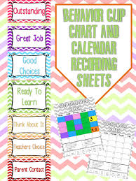 Fundamentals Of Firsts Chevron Behavior Clip Chart And