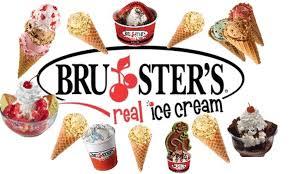 Bruster's Spirit Night this Wednesday 4:00-7:00