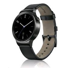 huawei watch 1. huawei watch with leather band (black) 1