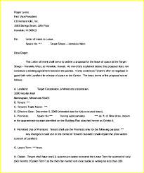 Letter Of Intent Template Word Business Letter Of Intent