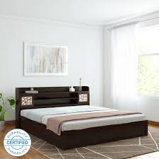 wooden furniture beds design. Contemporary Beds Spacewood Mayflower Engineered Wood King Box Bed With Wooden Furniture Beds Design O